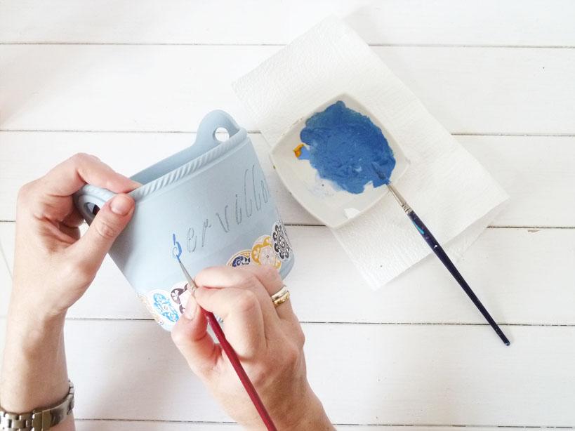 pintando letras