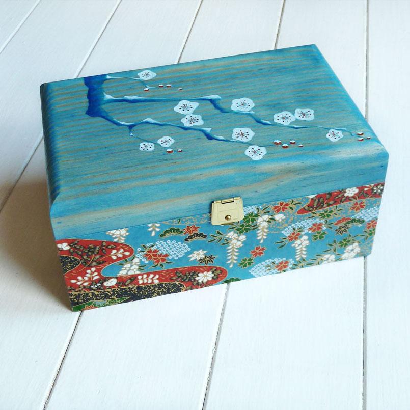 Cajas decoradas fabulous cajas decoradas carton with - Cajas decoradas a mano ...