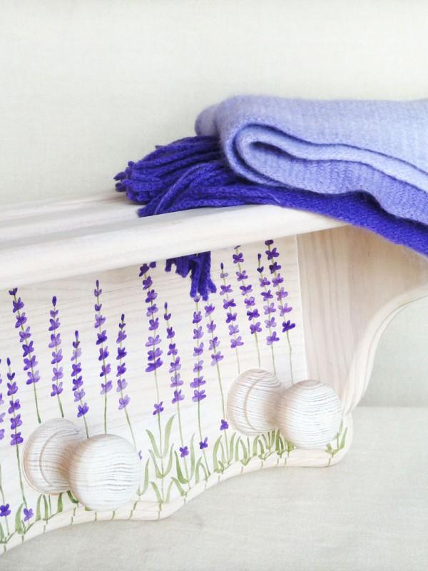 perchero-lavanda-pintado-a-mano
